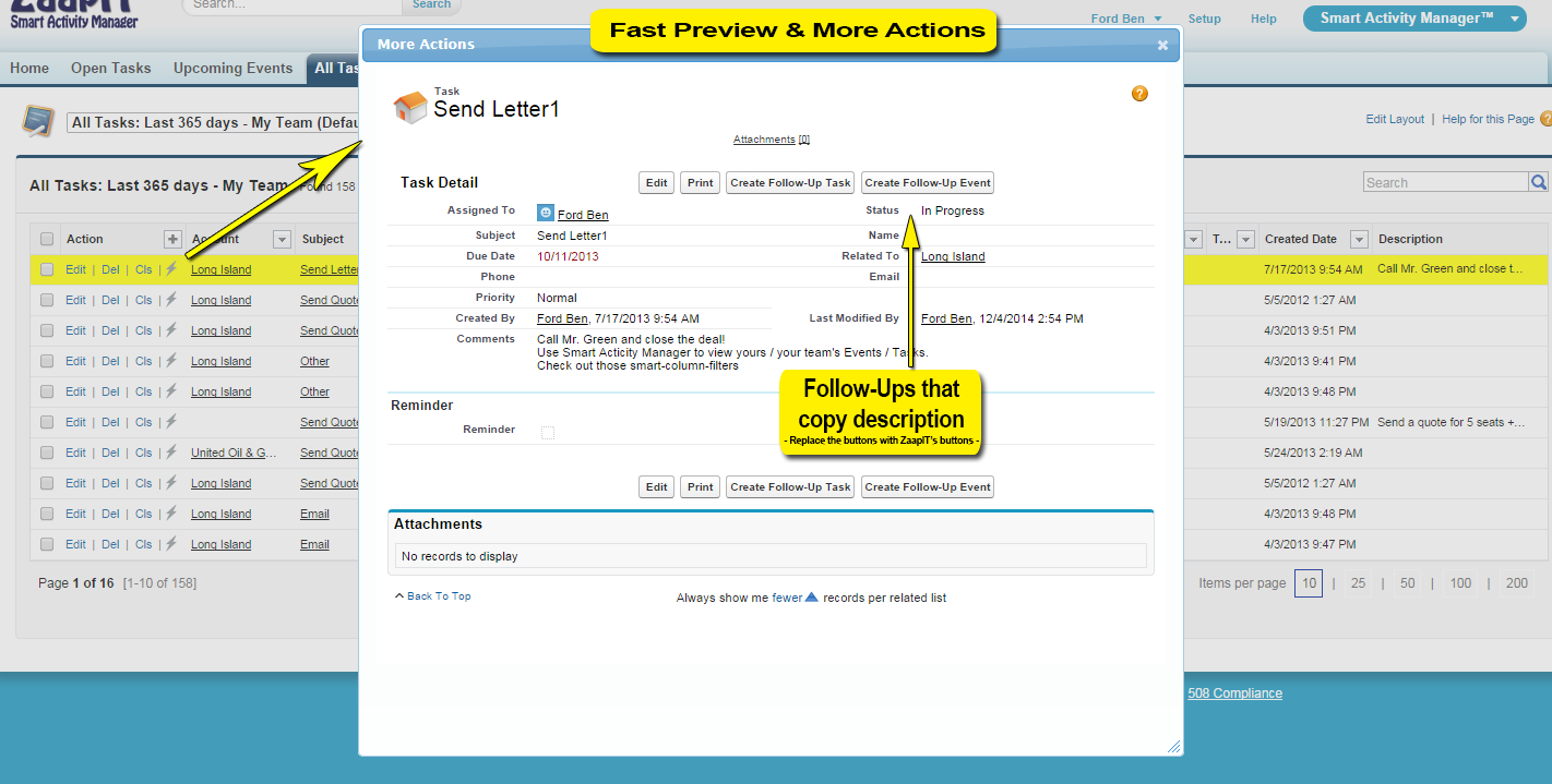 Smart Activity Manager Image #5