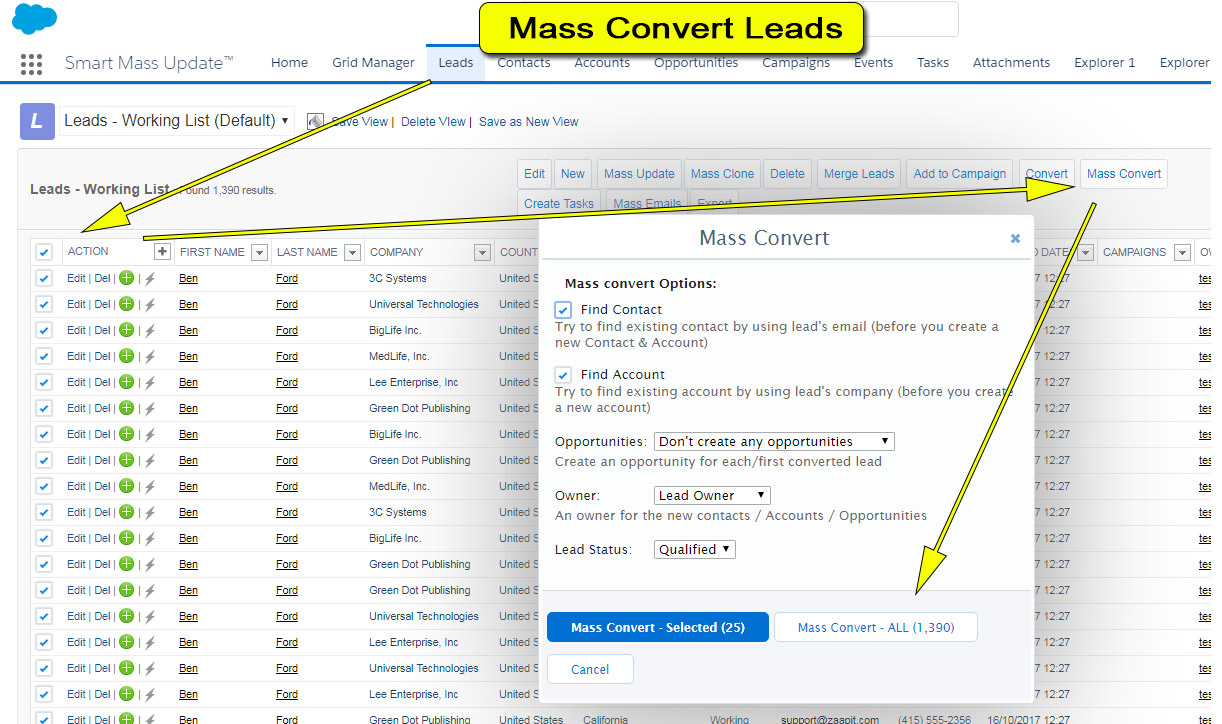 Smart Mass Update - Mass Covert